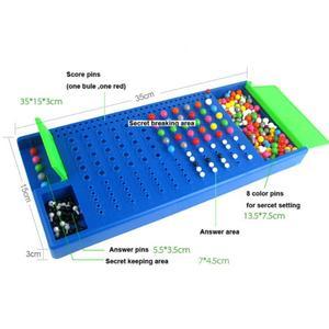 Image 5 - Familie Grappige Puzzel Game Code Breken Speelgoed Mastermind Intelligentie Spel Kinderen Speelgoed