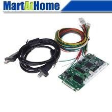цена на 150 KHz MACH3 4 Axis USB CNC Motion Control Card Breakout Board 5V DC Analog PWM support MPG for DIY 3020 3040 6040 CNC Machine