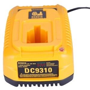 Image 4 - האיחוד האירופי Plug עבור Dewalt סוללה מטען DC9310 7.2V 18V Nicad & Nimh סוללה DW9057 DC9071 DC9091 DC9096 batteia מטען