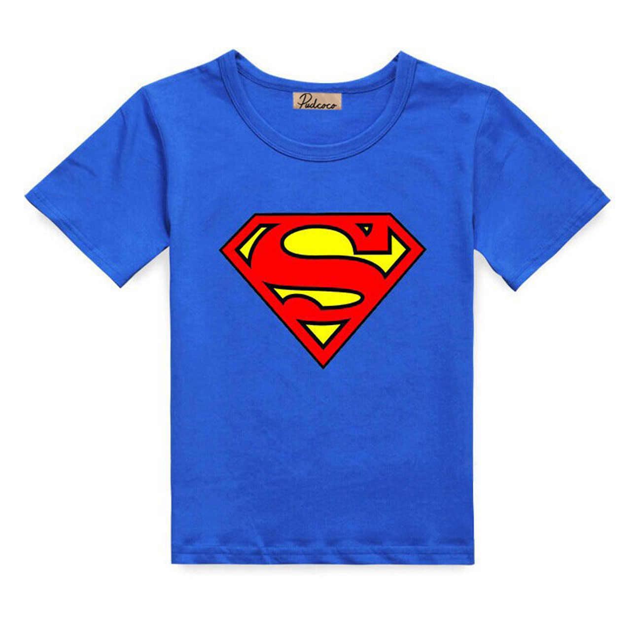 פעוטות בני גיבור קצר שרוול חולצה