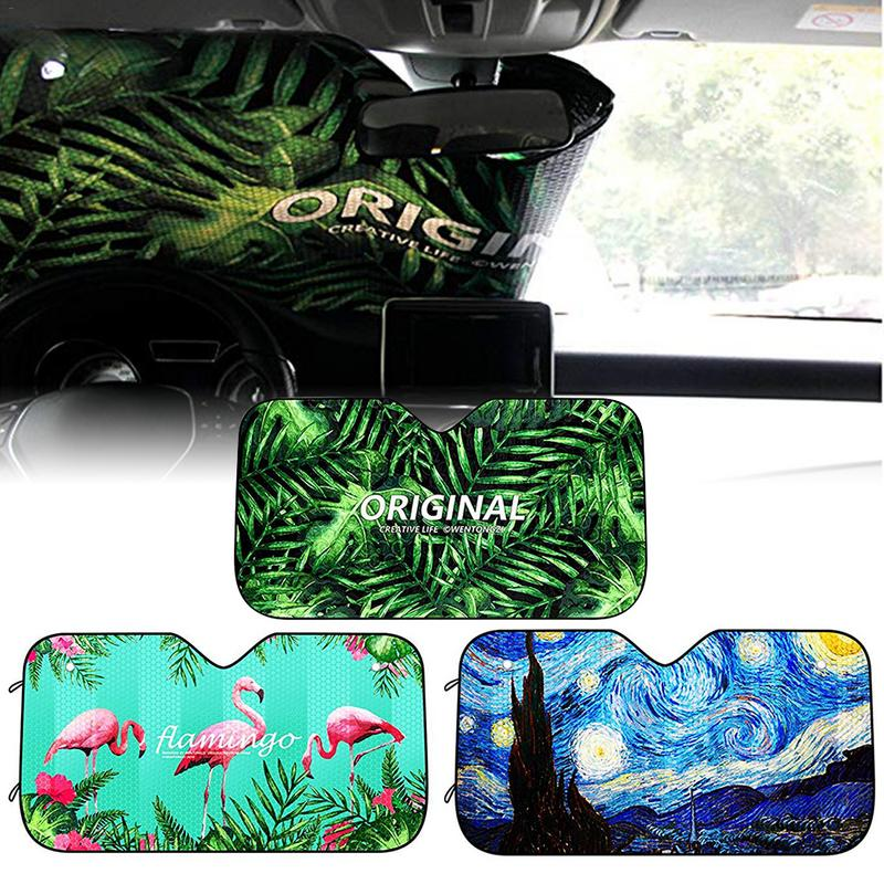 Universal Car Sun Shade UV Protection Curtain Car Sunshade Window Windscreen Sun Visor Summer Protection Window Film New