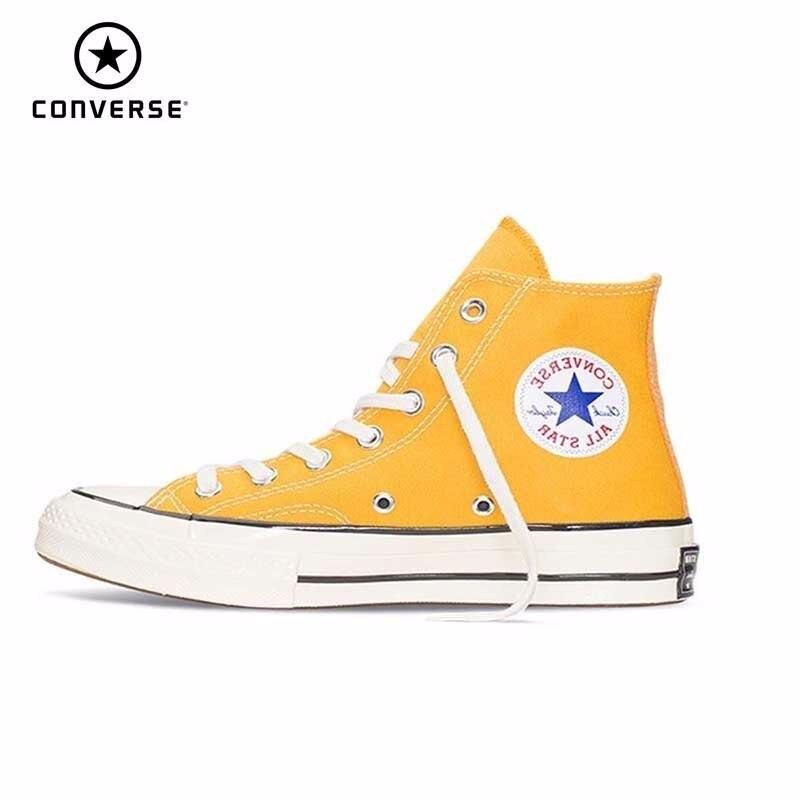 Converse Chuck Taylor chaussures de skateboard nouveau Original hommes femmes unisexe baskets haute classique chaussures # 159189c