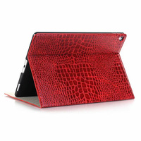 Crocodile Pattern Magnetic Smart Flip Leather Case For iPad Pro 12.9'' 2017 Tablet Cover Auto Sleep/Wake For Ipad 12.9inch Case