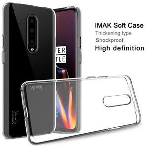 IMAK мягкие прозрачные чехлы из ТПУ для Oneplus7 Oneplus 7 Pro, прозрачный чехол для телефона, силиконовая задняя крышка, силиконовая полная защита