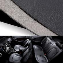DIY интерьер автомобиля литье рулевого колеса дверная ручка подлокотник панель приборной панели весь кусок микрофибра кожаный чехол 1,38*0,5 м
