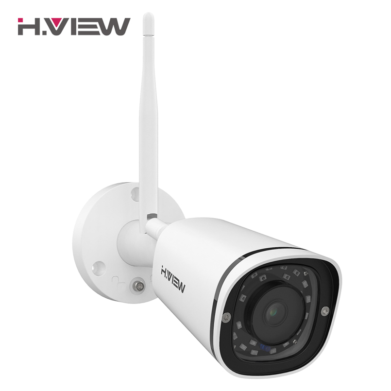 H.VIEW 4MP IP Camera Wifi Camera Outdoor Security Cameras Wifi Cameras Outdoor 2.4G 5G Bullet Camara CCTV Easy Remote View-in Surveillance Cameras from Security & Protection    1