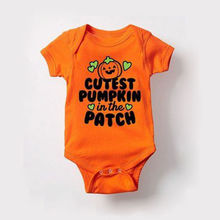 Summer Newborn Baby Boy Girl Romper Playsuit Cartoon Printed Jumpsuit Outfits Clothes Halloween Costume недорого