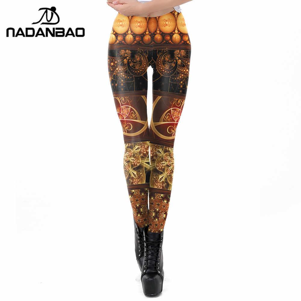 27c1d071ebd7bb NADANBAO Steampunk Women Legging Fitness Workout Slim Leggings For Girl  Elasticity Leggin Plus Size Pants