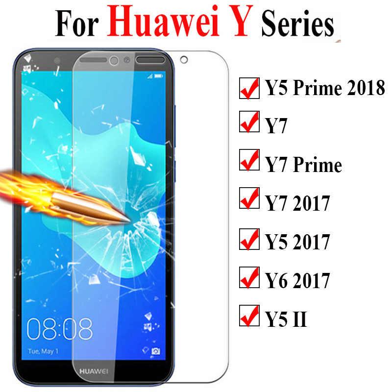 Szkło ochronne na dla Huawei Y5 Y7 Y6 Prime 2018 ochraniacz ekranu dla Y9 Y7 Y5 Ii Y6 Huavey hartowane szkło folia na cały telefon
