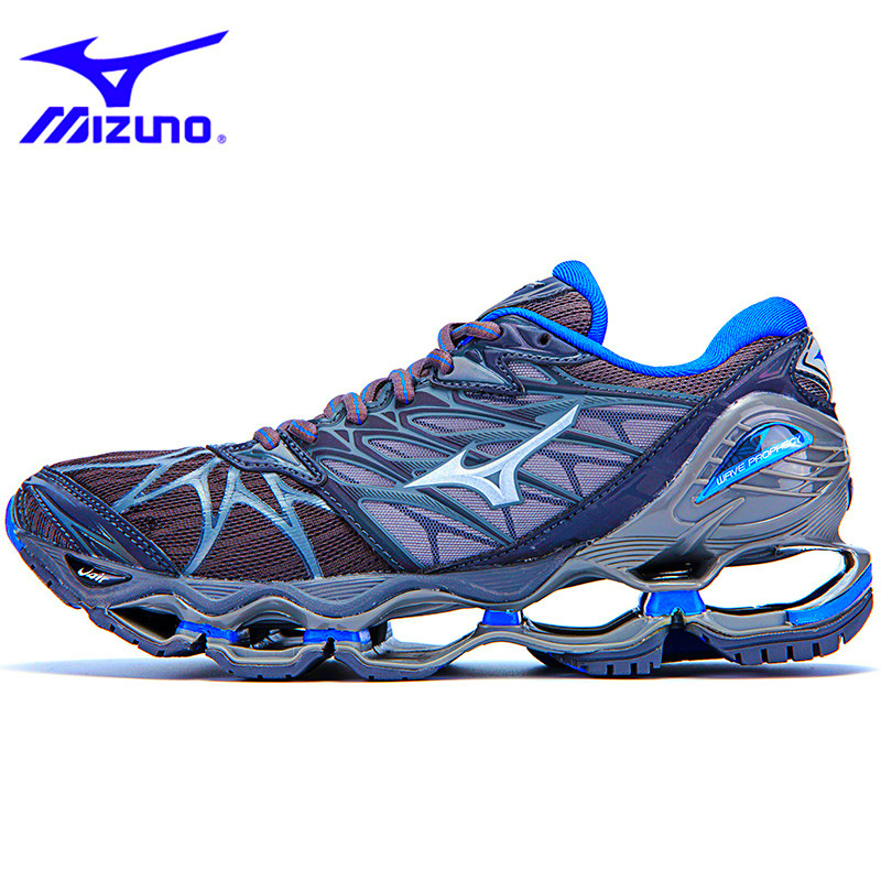 Mizuno Wave Prophecy 7 Professional Men Shoes Breathable Mesh Running Shoes Tenis Mizuno Prophecy WeightLifting Shoes Sneakers  Mizuno Wave Prophecy 7 Professional Men Shoes Breathable Mesh Running Shoes Tenis Mizuno Prophecy WeightLifting Shoes Sneakers