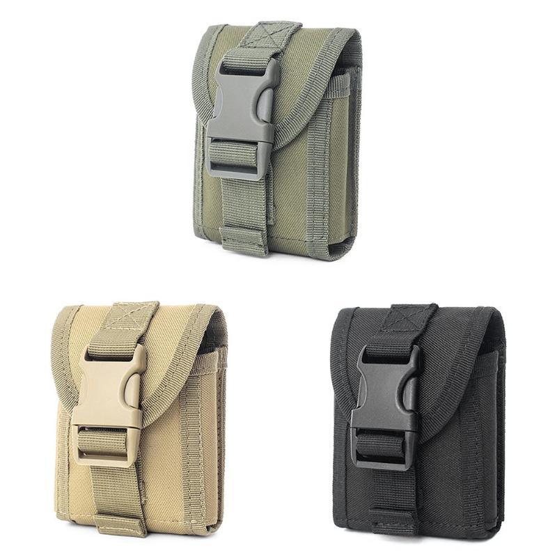 Outdoor Fanny Pack Camo Tactical Military Molle Phone Pouch Pocket Waist Bag Hip Waist Belt Bag Wallet Pouch Purse Phone Case