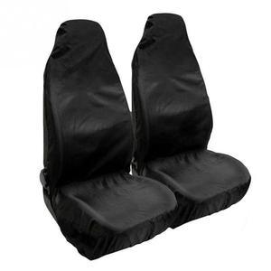 1 Pair Black Protectors Seat C