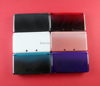 5sets Replacement full Housing Shell Case  Cover with button screen lens sticker for Nintendo 3DS Game Console