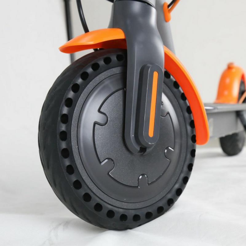 Pneus d'absorption de choc de pneu de Scooter électrique solide pour le pneu électrique de Xiao mi mi 8.5 pouces de roue de nid d'abeilles NPT