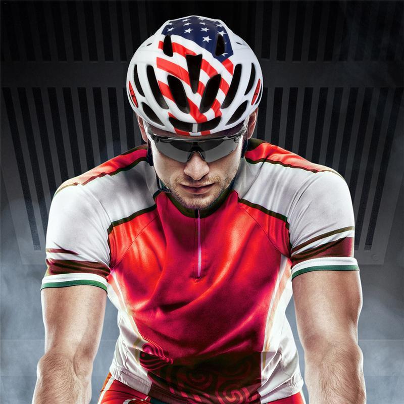 KINGBIKE Lightweight Durable Bike Bicycle Helmet Riding Helmet One-Piece Protective Helmet J668