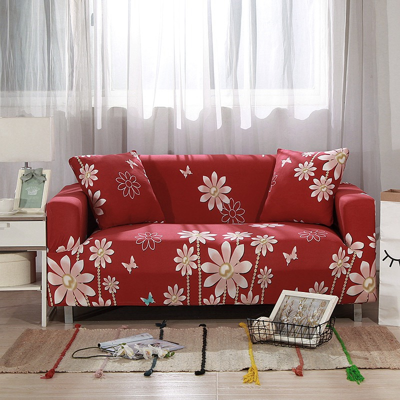 Aliexpress Com Buy Red Flexible Couch Sofa Cover