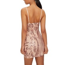 MUXU sequin dress sexy bodycon party night vestidos clothes glitter short dresssee through mini frocks backless