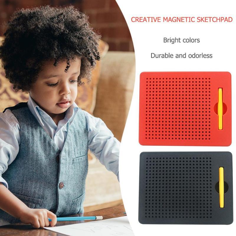 1 Paar Creatieve Plastic Magnetisch Tekenbord Voor Meer Dan 3 Jaar Oude Kinderen Schilderen Pad Tablet Speelgoed Educatief Gift 2019 Nieuwe Elegant In Geur