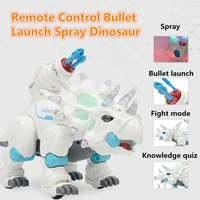 Water Spray Bullet Launch RC Animals Robots Dinosaur Toys for Kids White Spray Electric Dinosaur Mechanical Pterosaurs Dinosaur