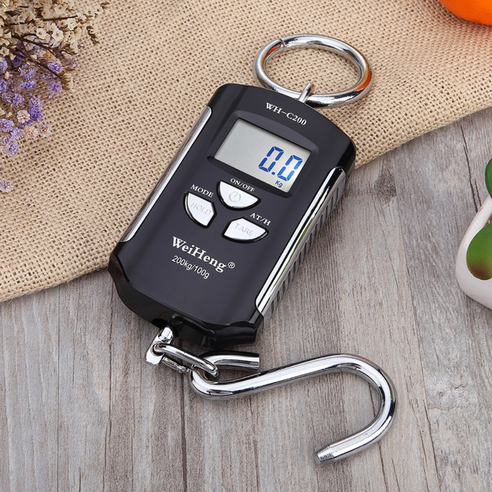 WH-C200 Micro Crane Scale Portable Electronic Scale 200KG/100G With Hook Scale For Industrial, Agricultural, Family