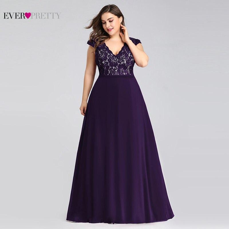 Purple Mother Of The Bride Dresses Ever Pretty Elegant A Line Long Chiffon Wedding Guest Dress Plus Size Robe Mere De La Marie