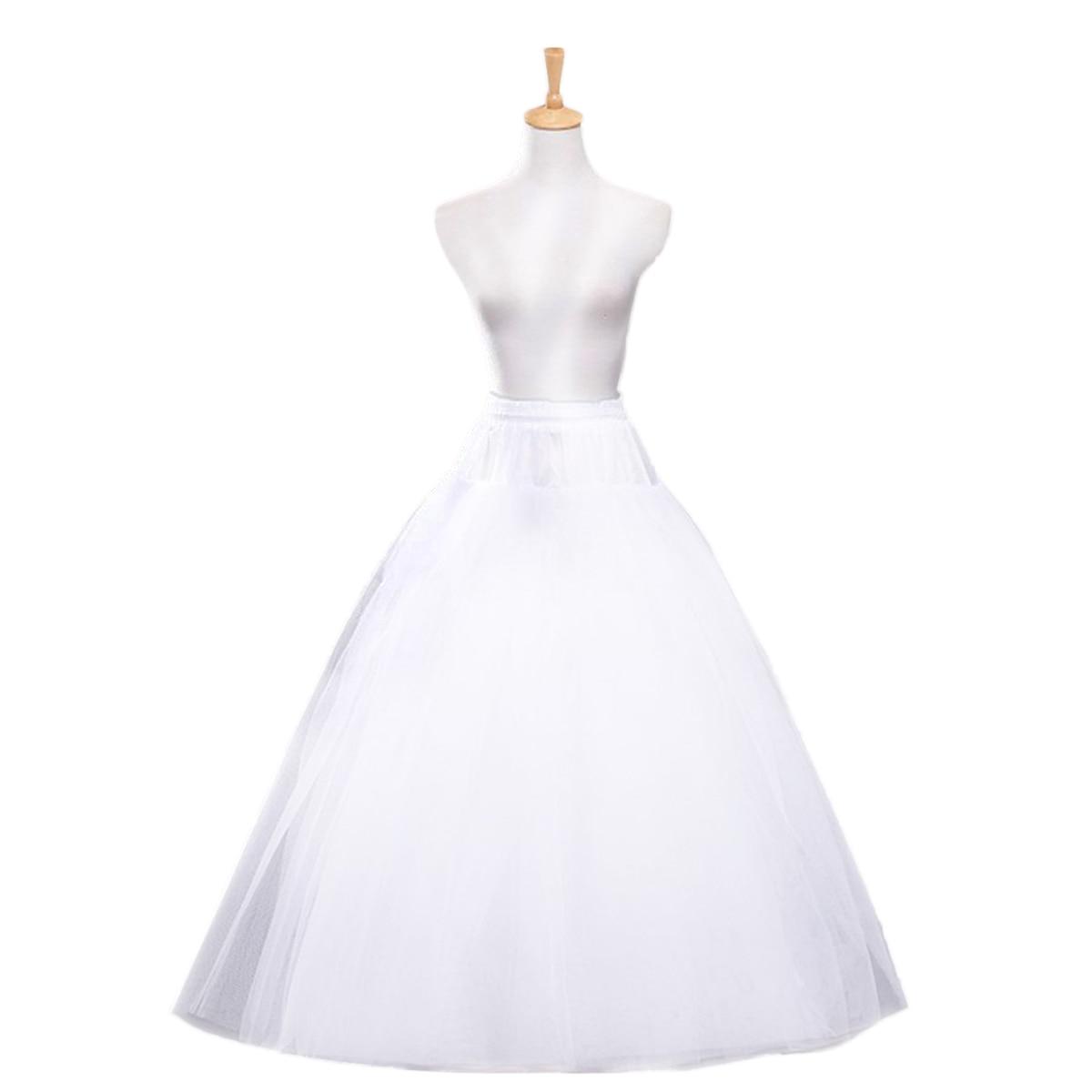 1 Stück Petticoat Ohne Knochen Vier-schicht Hochzeit Flauschigen Gaze Gaze Braut Krinoline Unterröcke Für Mädchen Frauen HüBsch Und Bunt