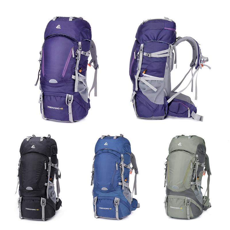 Voyage montagne sac à dos 60L étanche extérieur randonnée Camping sac à dos Mochila Trekking Camping escalade Sport sacs hommes femmes