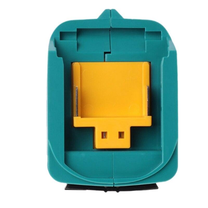 Usb Power Charging Adapter Converter For Makita Adp05 Bl1815 Bl1830 Bl1840 Bl1850 1415 14 4-18V Li-Ion Battery
