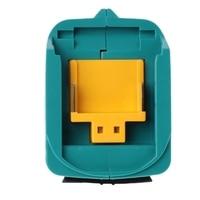 Usb Power Charging Adapter Converter For Makita Adp05 Bl1815 Bl1830 Bl1840 Bl1850 1415 14.4-18V Li-Ion Battery