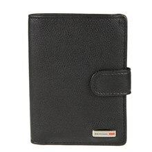 Портмоне с обложкой для автодокументов Gianni Cont 1608451 black