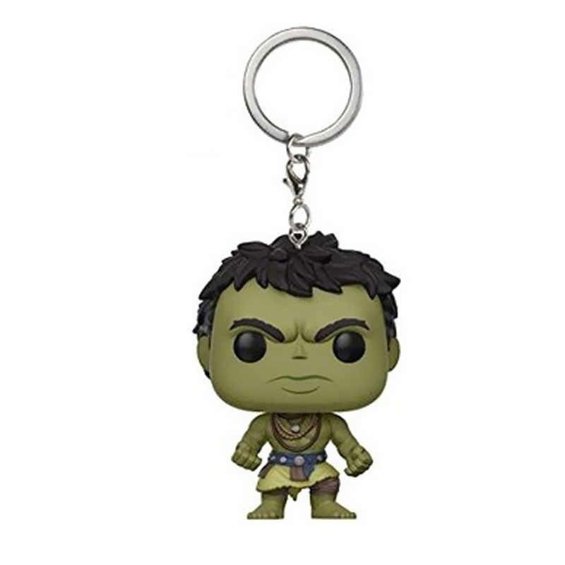 THOR 3 Móc Chìa Khóa Marvel Hình Hành Động Hulk Móc Khóa Avengers Anh Hùng Mẫu Móc Khóa