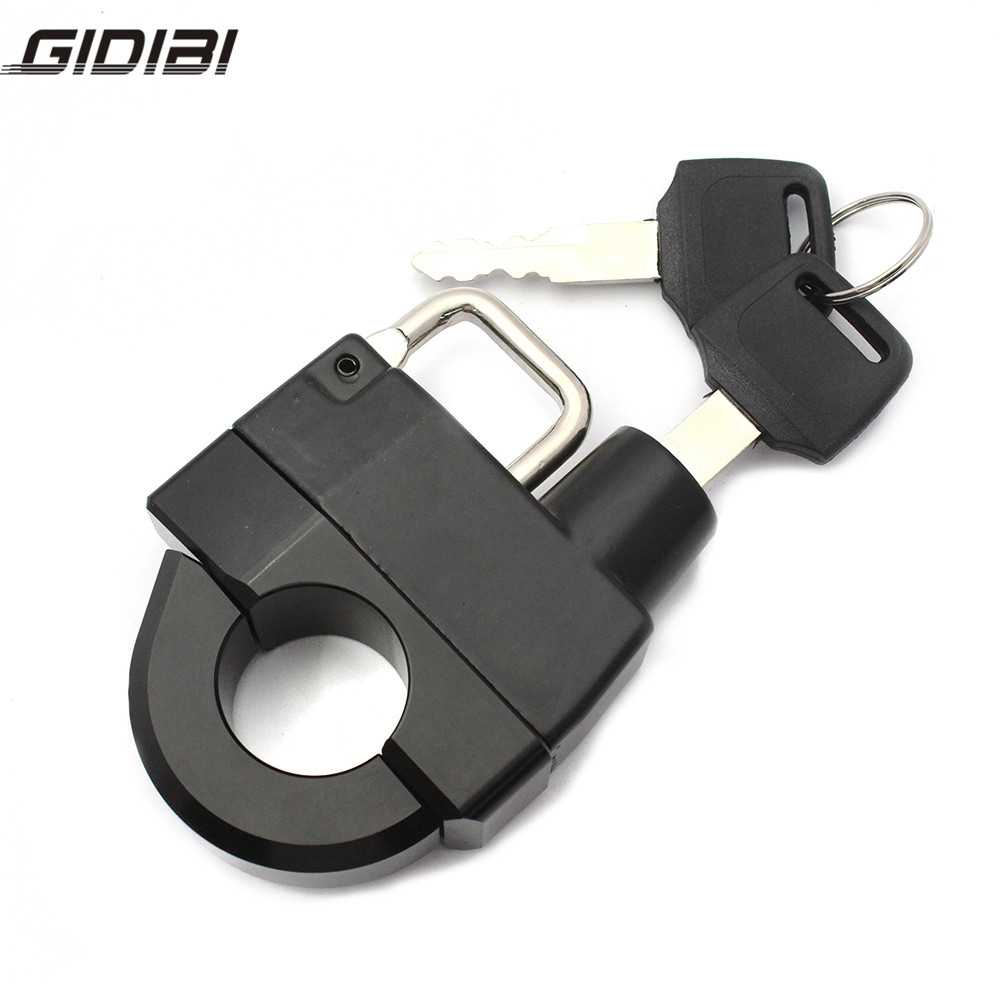 25MM Motocycle Helmet Lock For  Fatboy / Special Child/SuperLow 1200 T/Breakout/Pilot Under/Dyna FLD/FHR Rey Road