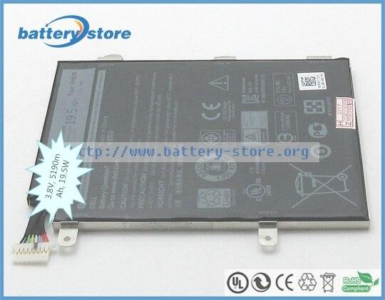 3,8 в, 5190 мАч, 19,5 Вт подлинный аккумулятор HH8J0, T03D001, HH8JO, 0HH8J0, FDD57 для DELL Venue 8 Pro 5855