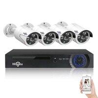 Hiseeu 8CH 4MP POE Security Camera System Kit H.265 Waterproof Wireless IP WiFi Camera Home CCTV Video Surveillance Set Outdoor