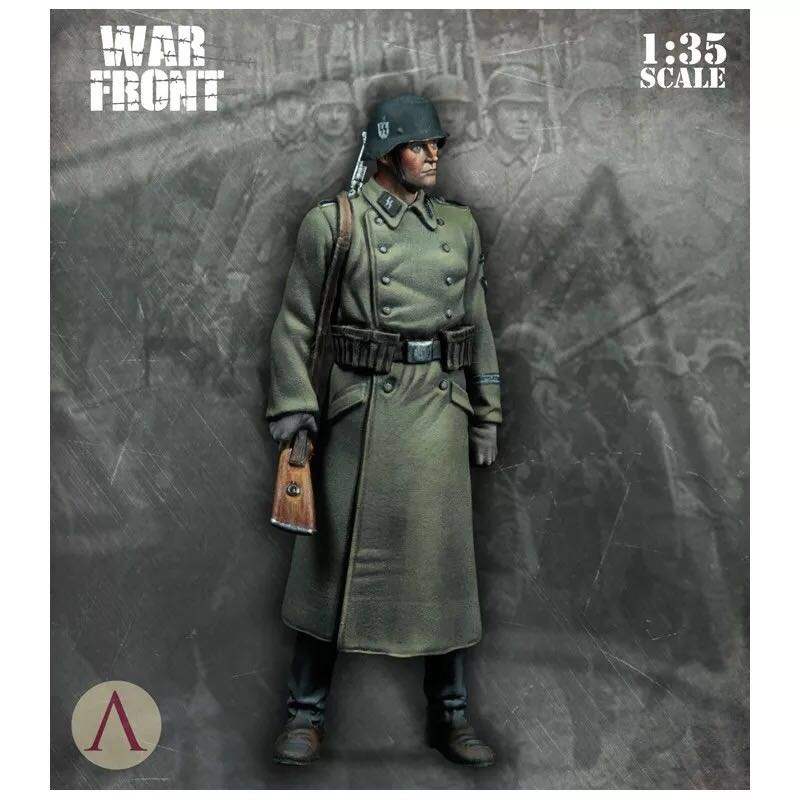 1/35 Figures Resin Soldier German Model Kits Colorless And Self-assembled DE-01