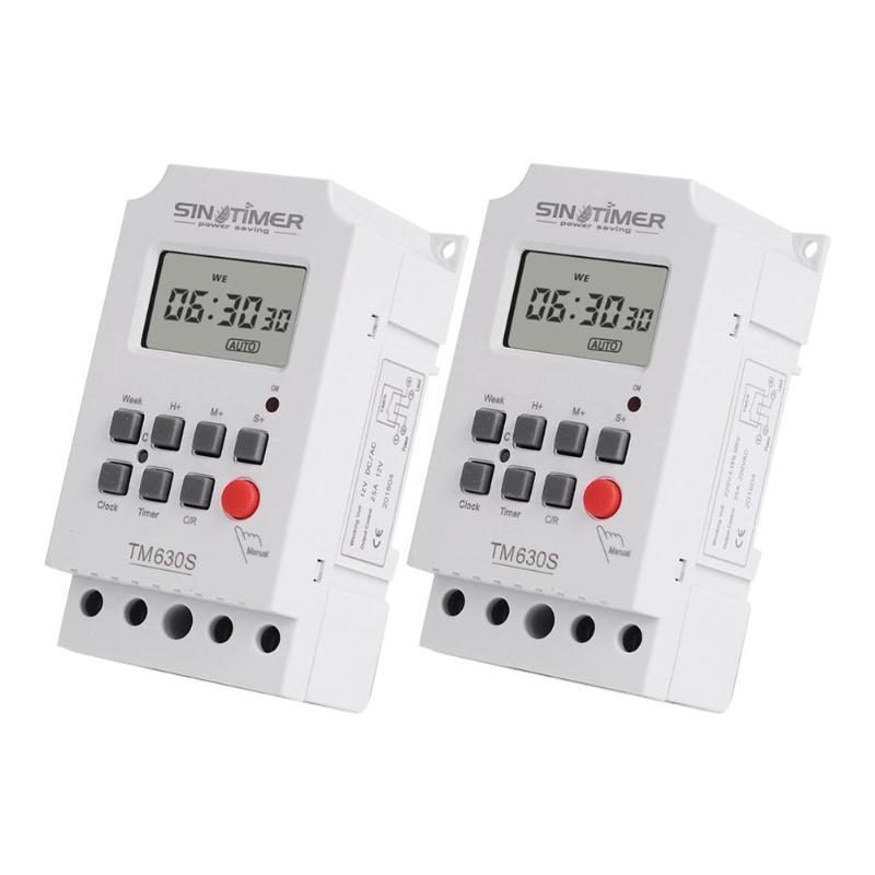 Timer Offen 7 Tage Pro Woche Programmierbare Lcd Digital Timer Schalter Controller Einstellung Uhr Küche Timer Steckdose Tm630s 12 V/220 V