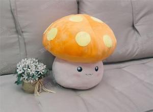 Image 3 - MapleStory peluş oyuncak 35cm mantar krallık çiçek mantar figürü cosplay bebek sevimli yüksek kaliteli yumuşak peluş kesim şeyler yastık