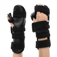 Muñeca ajustable soporte guardia mano formación esguince artritis férula  apoyo duro fractura manos muñequeras apoya 02ceef35491c