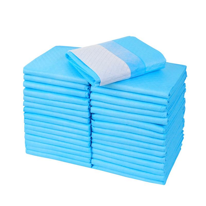 Wholesale Dog cat Disposable Diaper Pad with Super Absorbent Polymer Deodorization Leak Proof Carbon Chihuahua Pet Training Mat