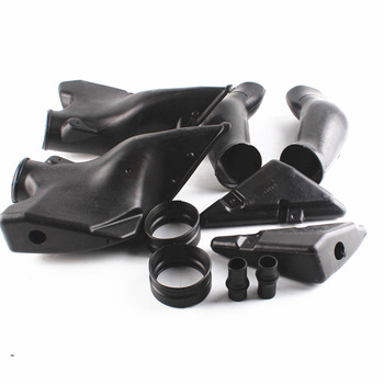 For Honda CBR600RR F5 2005 2006 ABS Plastic Ram Air Intake Tube Duct Replacement Black