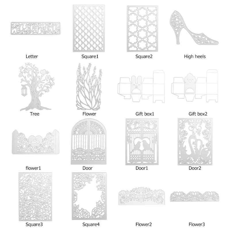 Metal Cutting Dies Set Embossing Stencils for Scrapbooking/Photo Stamp DIY Craft Album Paper Card Decor Gift  Christmas New Year