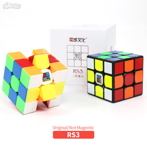 Image 5 - Moyu RS3 RS3M Magnetische Cube 3x3 Magic Speed Cube 3x3x3 Cubo Magico 3x3 Puzzle Mf 3RS V3 MF3RS Regelmäßige Cubetoys Für Kinder