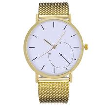 Fashion Watches Women New Style Simple Stainless Steel Mesh Strap Watch