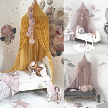 Dôme literie fille princesse moustiquaire bébé lit auvent tente ...