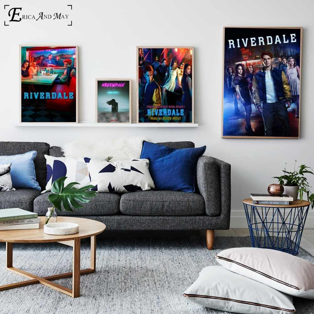 Riverdale Original TV Series Poster And Print Canvas Art Painting Wall Pictures For Living Room Decoration Home Decor No Frame