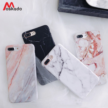 Moskado etui na telefon iPhone 6 6s 7 8 Plus luksusowy błyszczący granit marmurowy pokrowiec teksturowy na iPhone 11 Pro X XS Max XR Shell tanie i dobre opinie Aneks Skrzynki Glossy Marble Stone Texture Luxury Durable Phone Case Apple iphone ów Iphone 6 plus IPHONE X IPHONE 8 IPhone 7