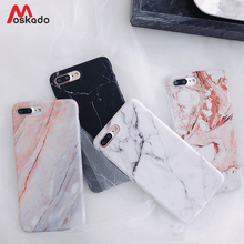 Moskado etui na telefon iPhone 6 6s 7 8 Plus luksusowy błyszczący granit marmurowy pokrowiec teksturowy na iPhone 11 Pro X XS Max XR Shell tanie tanio Aneks Skrzynki Glossy Marble Stone Texture Luxury Durable Phone Case Apple iphone ów Iphone 6 s Iphone 6 plus Iphone 6 s plus