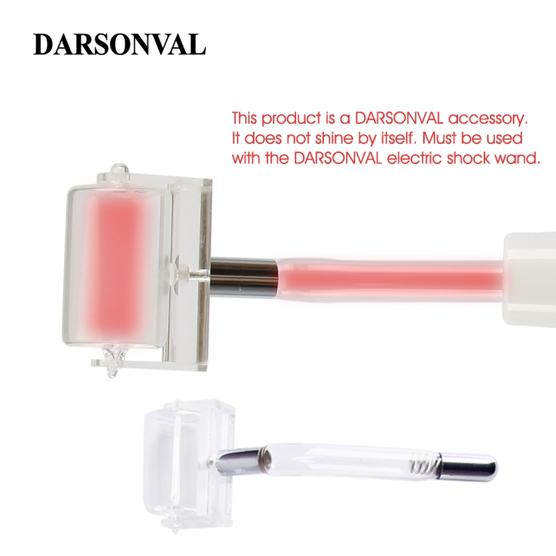 DARSONVAL 1Pcs High Frequency Facial Roller Glass Tubes Electrodes Nozzles Replacement Acne Spot Remover Orange Ray Face Care