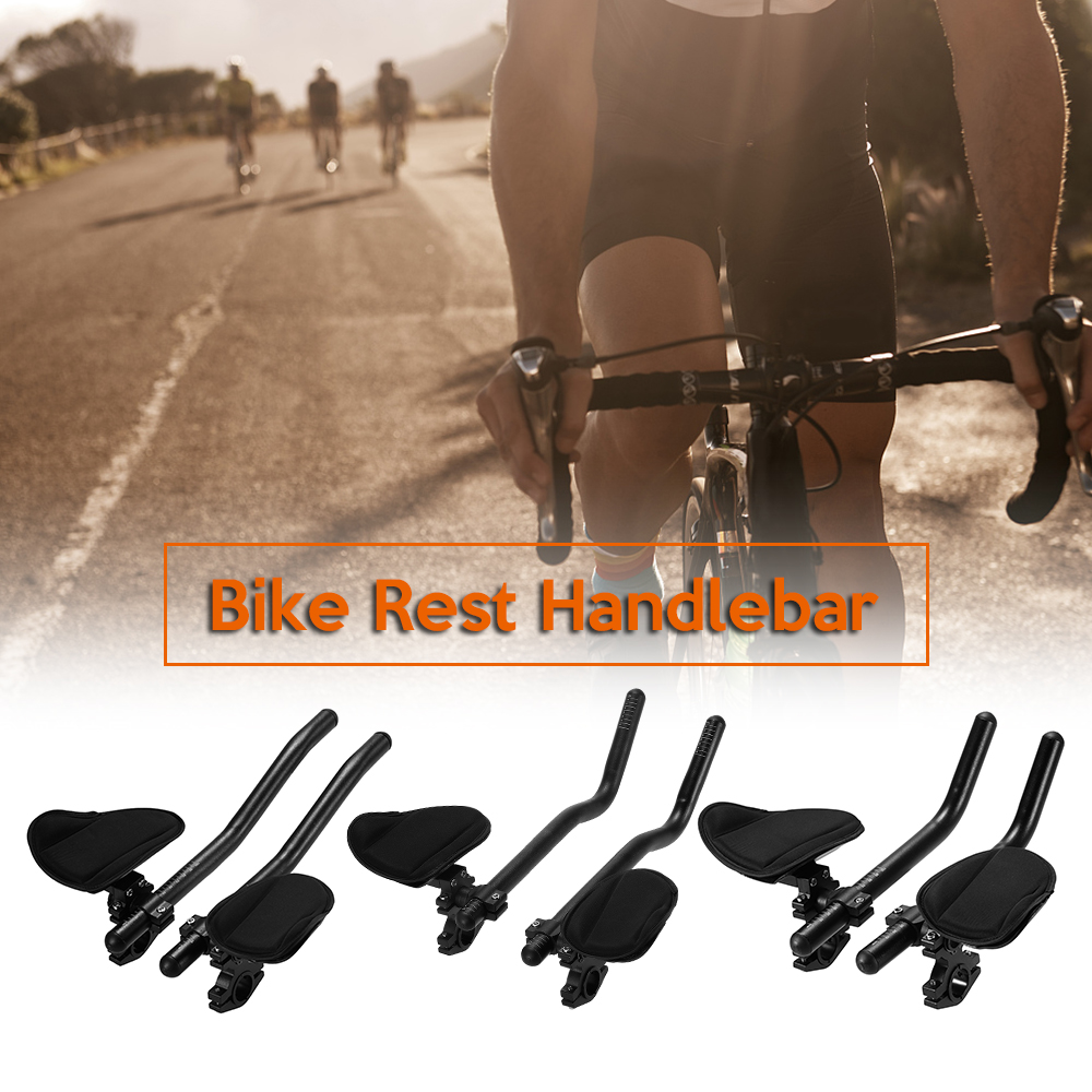 3 Type Bicycle Rest Handlebar Cycling Lightweight Bike Relaxation Handle Bar Triathlon MTB Road Arm Rest Bar Bike Aerobar3 Type Bicycle Rest Handlebar Cycling Lightweight Bike Relaxation Handle Bar Triathlon MTB Road Arm Rest Bar Bike Aerobar