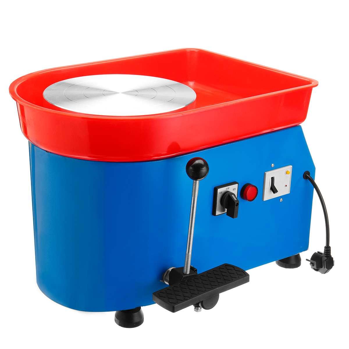 US Plug 350 W 110/220 V poterie électrique roue en céramique Machine poterie formant la Machine argile pour travaux pratiques outil céramique travail céramique argile